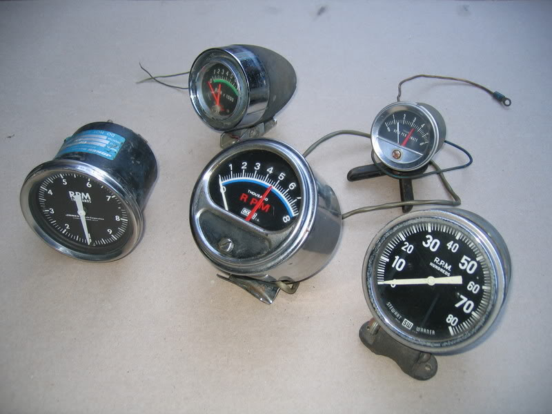 About Vintage Tachometers: Dixco Tachometer Wiring Diagram At Shintaries.co